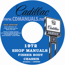 1972 Cadillac Shop Manual & Body Manual - All Models | eBooks | Automotive