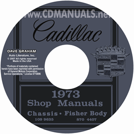 1973 Cadillac Shop Manual & Body Manual - All Models | eBooks | Automotive