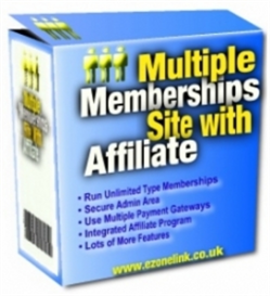 Multiple Memberships Site Software With Affiliate | Software | Utilities