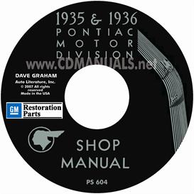 1935-1936 Pontiac  Shop Manual - All Models   eBooks   Automotive