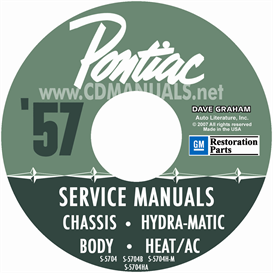 1957 Pontiac Shop Manual With Hydra-Matic, A/C, & Fuel Inject | eBooks | Automotive