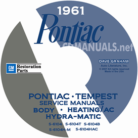 1961 Pontiac Shop Manual With Body, Hydra-Matic, & A/C Manual | eBooks | Automotive