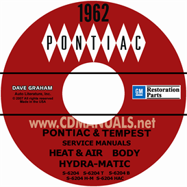 1962 Pontiac Shop Manual With Body, Hydra-Matic, &A/C Manuals | eBooks | Automotive