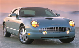 2004 Ford Thunderbird Product Information Specifications | eBooks | Automotive