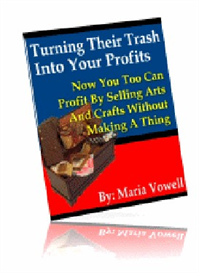 sell arts & crafts items without making a single project!