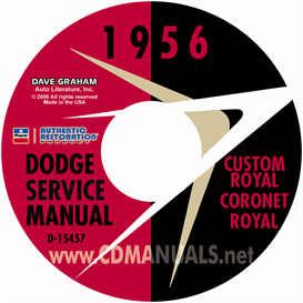 1956 Dodge Service Manual - All Models | eBooks | Automotive