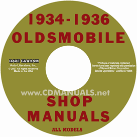 1934-1936 Oldsmobile Shop Manual- All Models | eBooks | Automotive