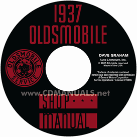 1937 Oldsmobile Shop Manual- All Models | eBooks | Automotive
