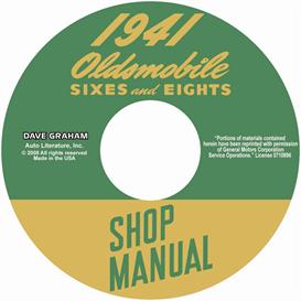 1941 Oldsmobile Shop Manual-All Models | eBooks | Automotive