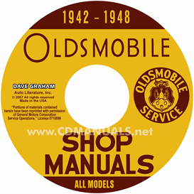 1942-1946-1947-1948 Oldsmobile Shop Manual- All Models | eBooks | Automotive