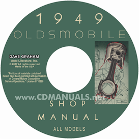 1949 Oldsmobile Shop Manual- All Models | eBooks | Automotive