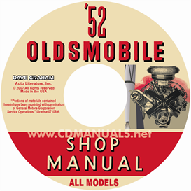 1952 Oldsmobile Shop Manual- All Models | eBooks | Automotive