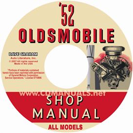 1952 Oldsmobile Shop Manual- All Models | eBooks | Automotive