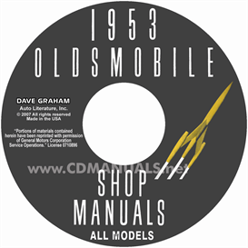 1953 Oldsmobile Shop Manual- All Models | eBooks | Automotive