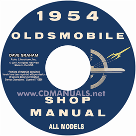 1954 Oldsmobile Shop Manual- All Models | eBooks | Automotive