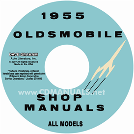1955 Oldsmobile Shop Manual- All Models | eBooks | Automotive