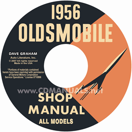 1956 Oldsmobile Shop Manual- All Models | eBooks | Automotive