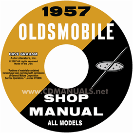 1957 Oldsmobile Shop Manual- All Models | eBooks | Automotive