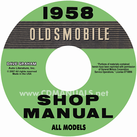 1958 Oldsmobile Shop Manual- All Models | eBooks | Automotive