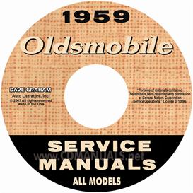 1959 Oldsmobile Shop Manual- All Models | eBooks | Automotive