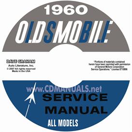 1960 Oldsmobile Shop Manual- All Models | eBooks | Automotive