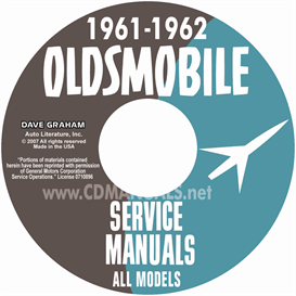 1961-1962 Oldsmobile Shop Manual- All Models | eBooks | Automotive