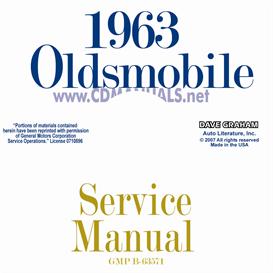 1963 Oldsmobile Shop Manual- All Models | eBooks | Automotive