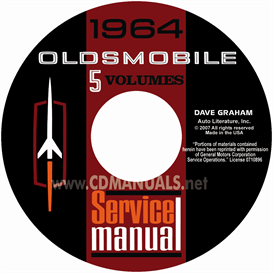 1964 Oldsmobile Shop Manual- All Models | eBooks | Automotive