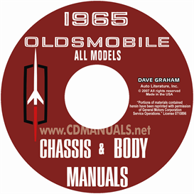 1965 Oldsmobile Shop Manual & Body Manual- All Models | eBooks | Automotive