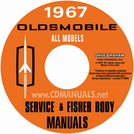 1967 Oldsmobile Shop Manual & Body Manual- All Models | eBooks | Automotive