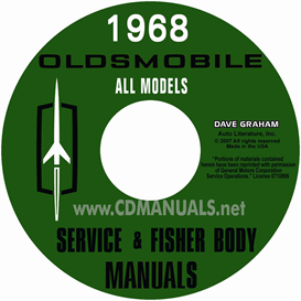 1968 Oldsmobile Shop Manual & Body Manual- All Models | eBooks | Automotive