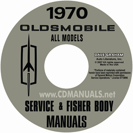 1970 Oldsmobile Shop Manual & Body Manual- All Models | eBooks | Automotive