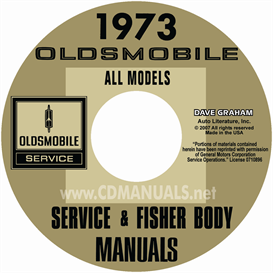 1973 Oldsmobile Shop Manual & Body Manual- All Models | eBooks | Automotive