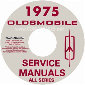 1975 Oldsmobile Shop Manual & Body Manual | eBooks | Automotive