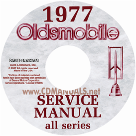 1977 Oldsmobile Shop Manual & Body Manual- All Models | eBooks | Automotive