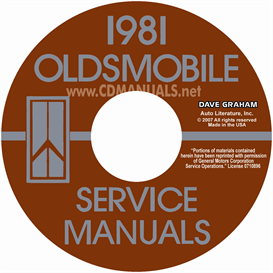 1981 Oldsmobile Shop Manual& Body Manual- All Models | eBooks | Automotive