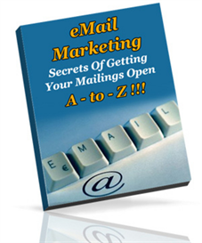 email marketing a to z - new ebook with plr