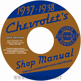 1937-1938 Chevrolet Shop Manuals - All Cars & Trucks | eBooks | Automotive