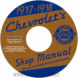1937-1938 Chevrolet Shop Manuals - All Cars & Trucks | eBooks | Automotive