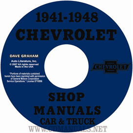 1941-1948 Chevrolet Shop Manuals 1941-1948 Car & 1941-1946 Truck | eBooks | Automotive