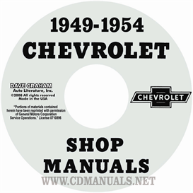1949-1954 Chevrolet Shop Manual | eBooks | Automotive