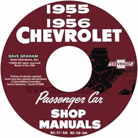 1955-1956 Chevy Shop Manuals | eBooks | Automotive