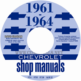 1961-1964 Chevrolet Car Shop Manuals | eBooks | Automotive