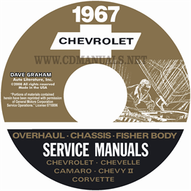 1967 Chevy Shop Manual, Body & Overhaul Manuals- All Models | eBooks | Automotive