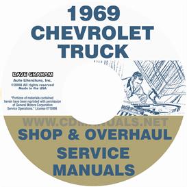 1969 Chevrolet Pickup & Truck Shop Manual & Overhaul Manual | eBooks | Automotive