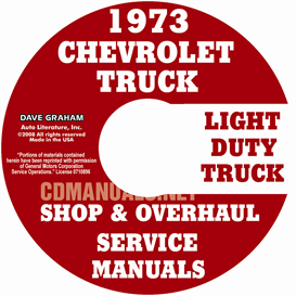 1973 Chevy Pickup And Truck Shop Manual & Overhaul Manual | eBooks | Automotive