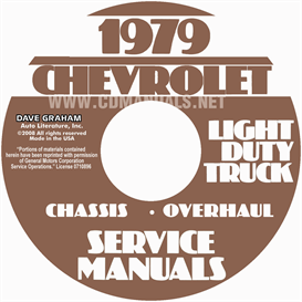 1979 Chevrolet Pickup, Blazer, Van, & Suburban Shop Manual | eBooks | Automotive