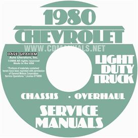 1980 Chevrolet Pickup Blazer Van And Suburban Shop Manual | eBooks | Automotive