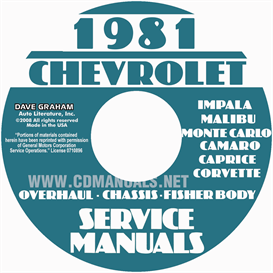 1981 Chevy Service Manuals Shop, Overhaul, And Body Manuals | eBooks | Automotive