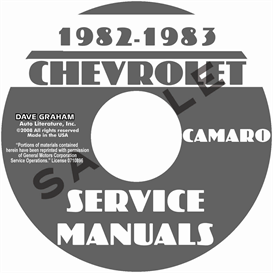 1982-1983 Chevy Camaro Shop Manuals | eBooks | Automotive